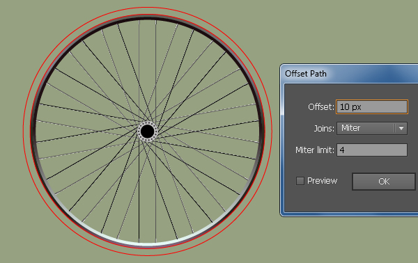 Create a Racing Bicycle in Adobe Illustrator 20