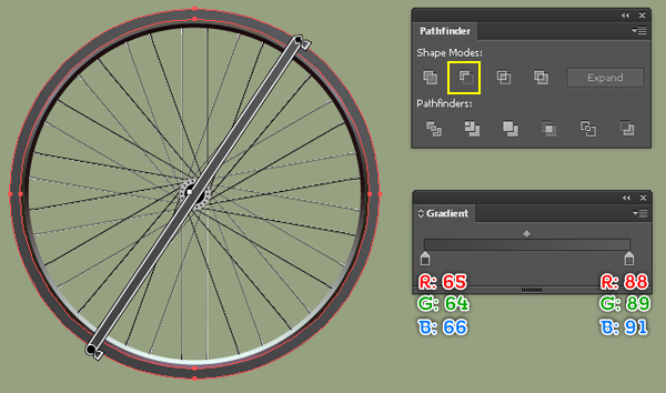 Create a Racing Bicycle in Adobe Illustrator 21