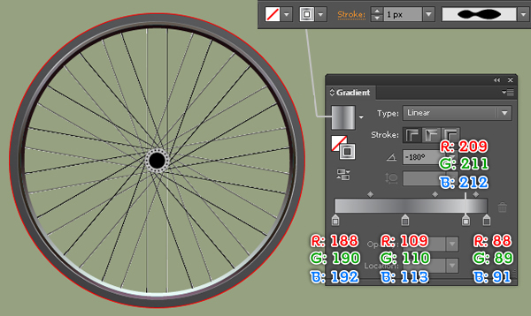 Create a Racing Bicycle in Adobe Illustrator 22