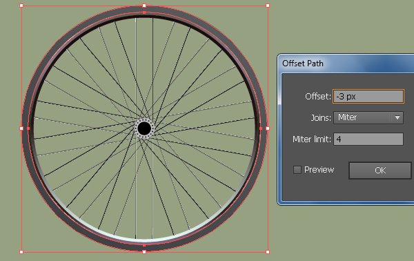 Create a Racing Bicycle in Adobe Illustrator 23