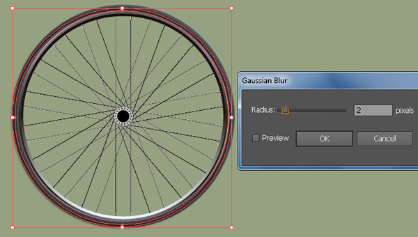 Create a Racing Bicycle in Adobe Illustrator 25