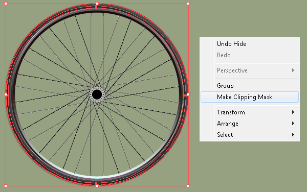 Create a Racing Bicycle in Adobe Illustrator 26