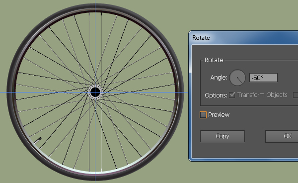 Create a Racing Bicycle in Adobe Illustrator 31