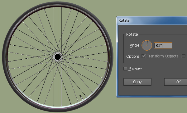 Create a Racing Bicycle in Adobe Illustrator 32