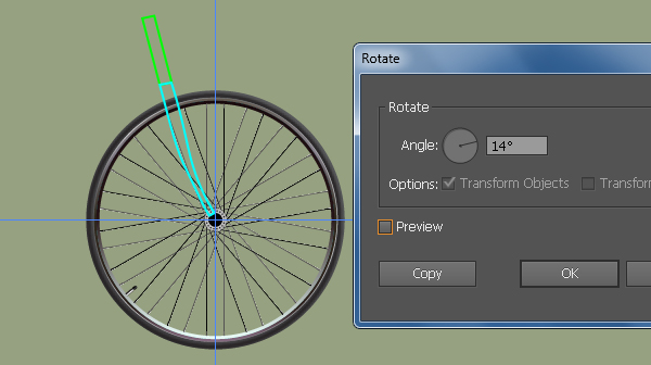 Create a Racing Bicycle in Adobe Illustrator 45