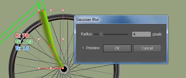 Create a Racing Bicycle in Adobe Illustrator 48