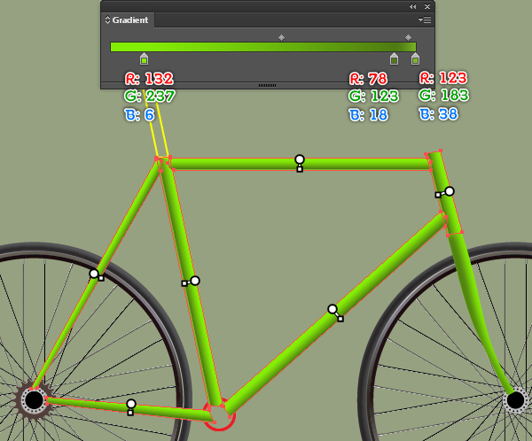 Create a Racing Bicycle in Adobe Illustrator 50