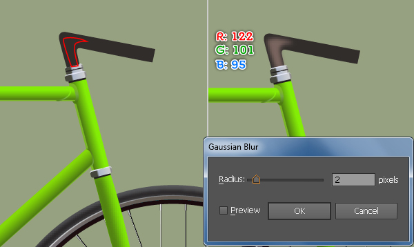 Create a Racing Bicycle in Adobe Illustrator 66