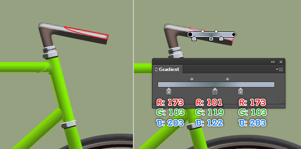 Create a Racing Bicycle in Adobe Illustrator 68