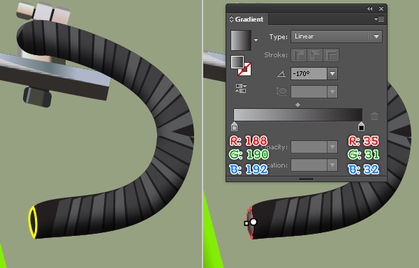 Create a Racing Bicycle in Adobe Illustrator 84