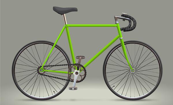 Create a Racing Bicycle in Adobe Illustrator