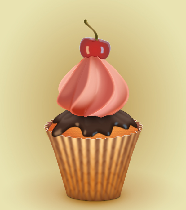 Create a Cupcake in Adobe Illustrator