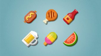 Create a Set of Food Icons in Adobe Illustrator