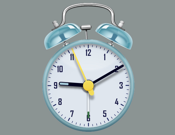 Create an Alarm Clock in Adobe Illustrator 104