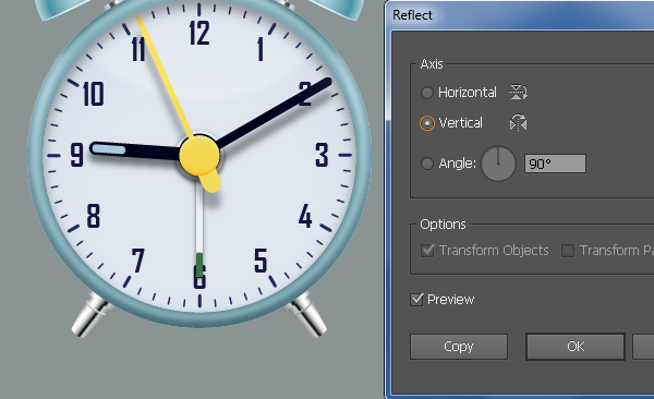Create an Alarm Clock in Adobe Illustrator 112