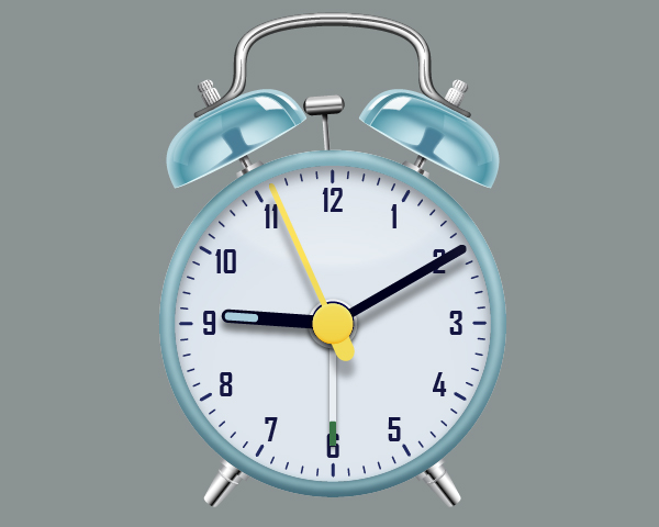 Create an Alarm Clock in Adobe Illustrator 113