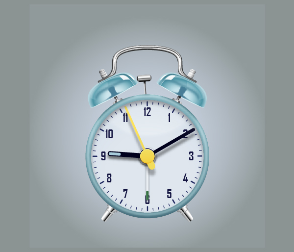 Create an Alarm Clock in Adobe Illustrator 116