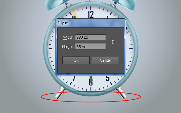 Create an Alarm Clock in Adobe Illustrator 117