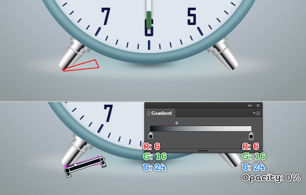Create an Alarm Clock in Adobe Illustrator 123