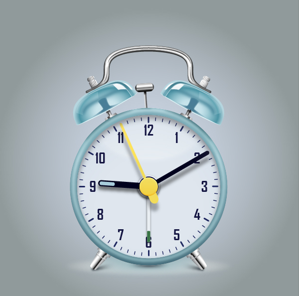 Create an Alarm Clock in Adobe Illustrator 1192