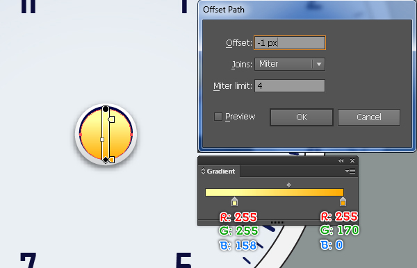Create an Alarm Clock in Adobe Illustrator 27