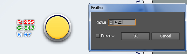 Create an Alarm Clock in Adobe Illustrator 29