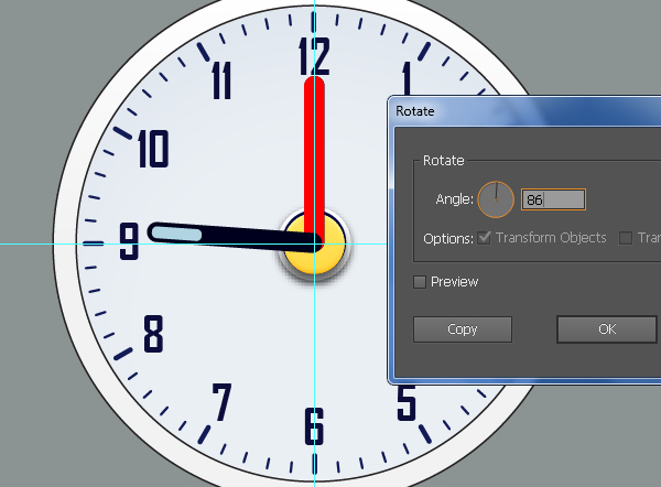 Create an Alarm Clock in Adobe Illustrator 33