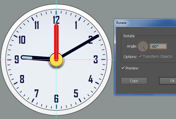 Create an Alarm Clock in Adobe Illustrator 36