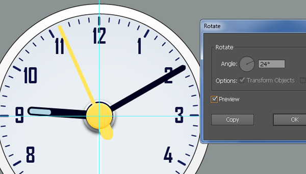 Create an Alarm Clock in Adobe Illustrator 42