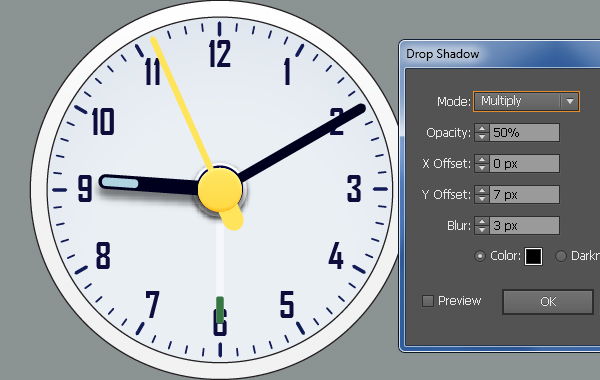 Create an Alarm Clock in Adobe Illustrator 43