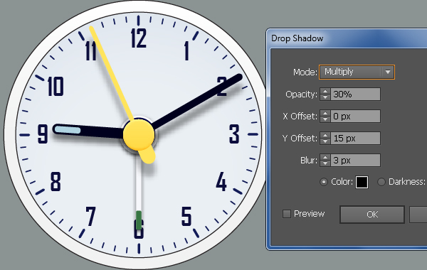 Create an Alarm Clock in Adobe Illustrator 46