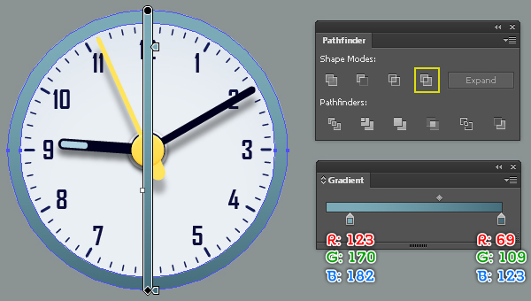 Create an Alarm Clock in Adobe Illustrator 47