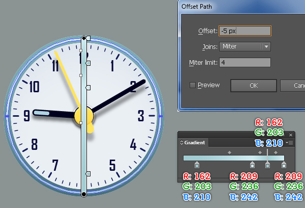 Create an Alarm Clock in Adobe Illustrator 48