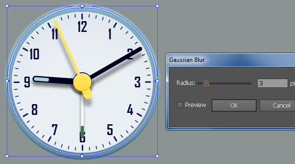 Create an Alarm Clock in Adobe Illustrator 49