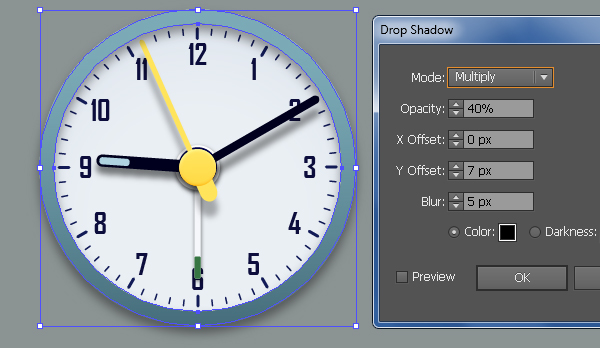 Create an Alarm Clock in Adobe Illustrator 50