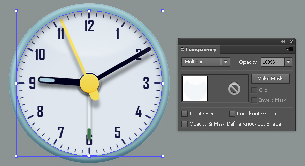Create an Alarm Clock in Adobe Illustrator 56