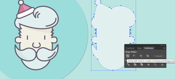 How to Create a Santa Icon Using Adobe Illustrator 28