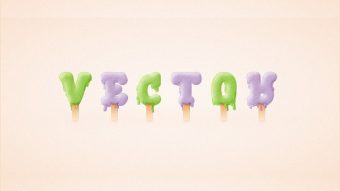 Members Area Tutorial: How to Create an Ice Cream Text Effect in Adobe Illustrator