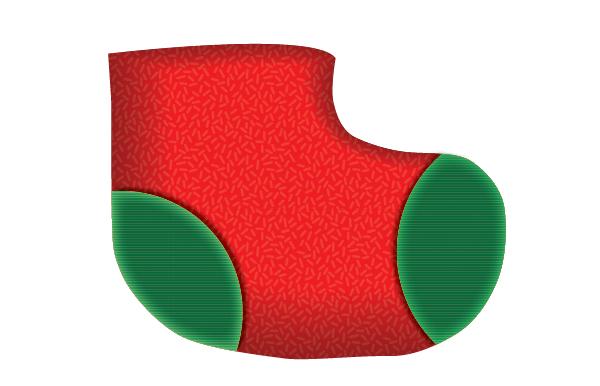 Create a Cute Christmas Sock in Adobe Illustrator 10