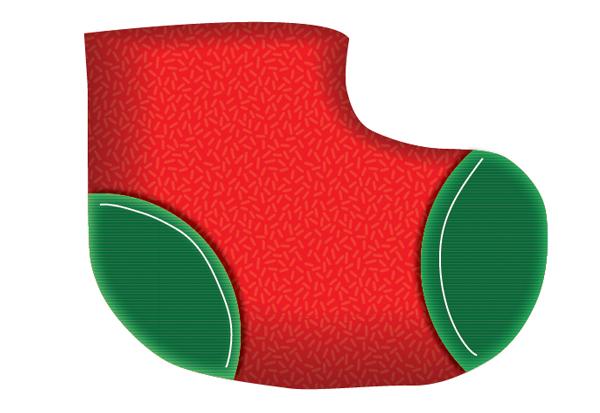 Create a Cute Christmas Sock in Adobe Illustrator 11