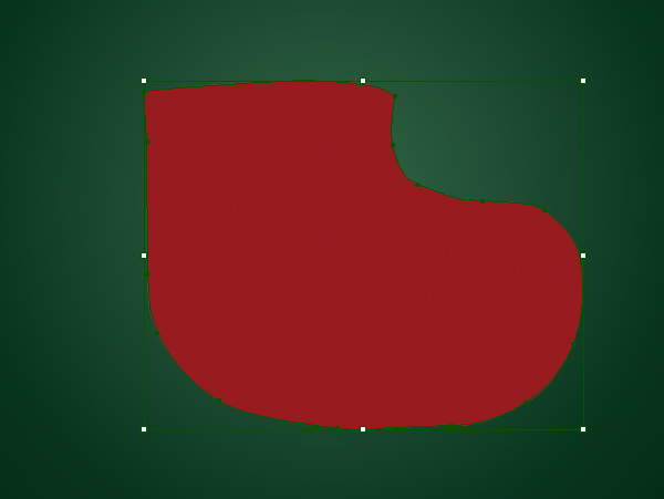 Create a Cute Christmas Sock in Adobe Illustrator 2