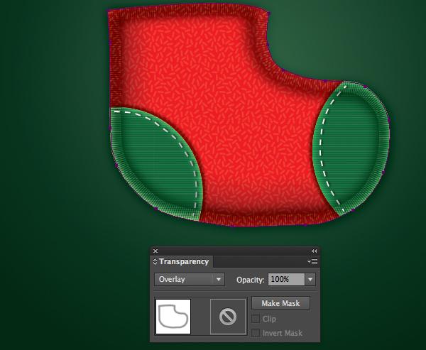 Create a Cute Christmas Sock in Adobe Illustrator 21