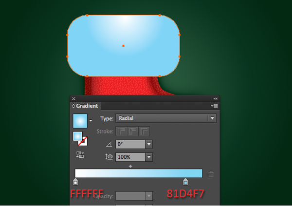 Create a Cute Christmas Sock in Adobe Illustrator 25
