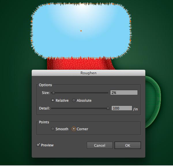 Create a Cute Christmas Sock in Adobe Illustrator 26