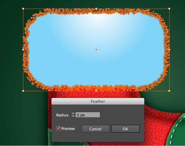 Create a Cute Christmas Sock in Adobe Illustrator 28
