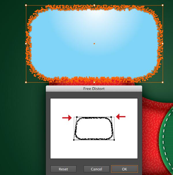 Create a Cute Christmas Sock in Adobe Illustrator 30