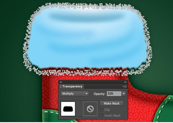 Create a Cute Christmas Sock in Adobe Illustrator 39