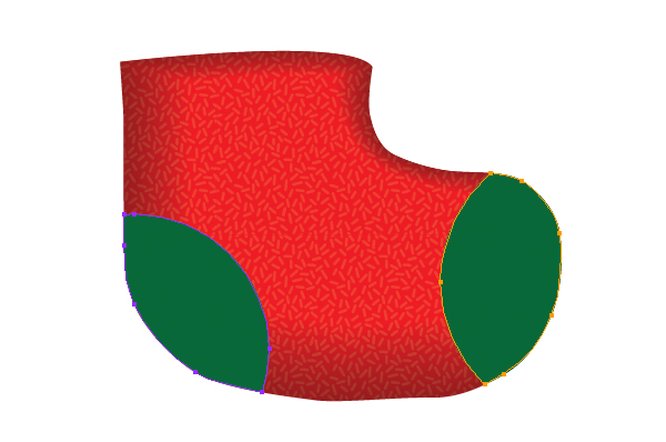 Create a Cute Christmas Sock in Adobe Illustrator 6