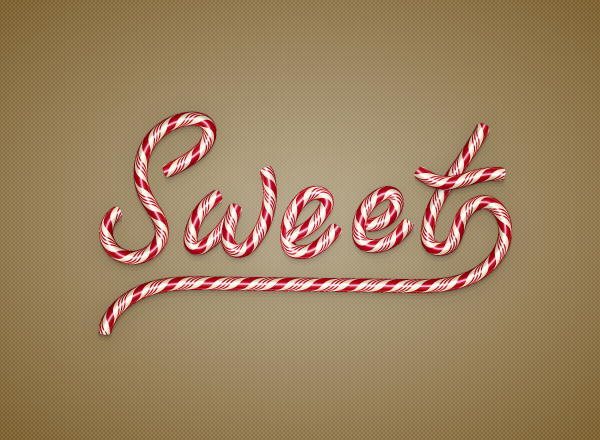 How to Create a Candy Text Effect