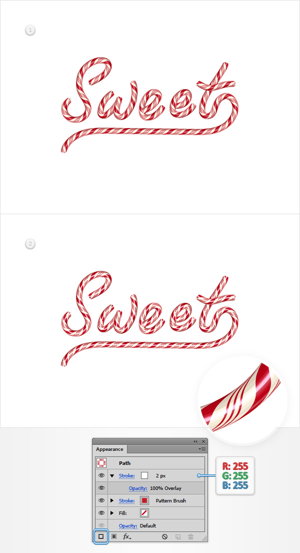 How to Create a Candy Text Effect 26